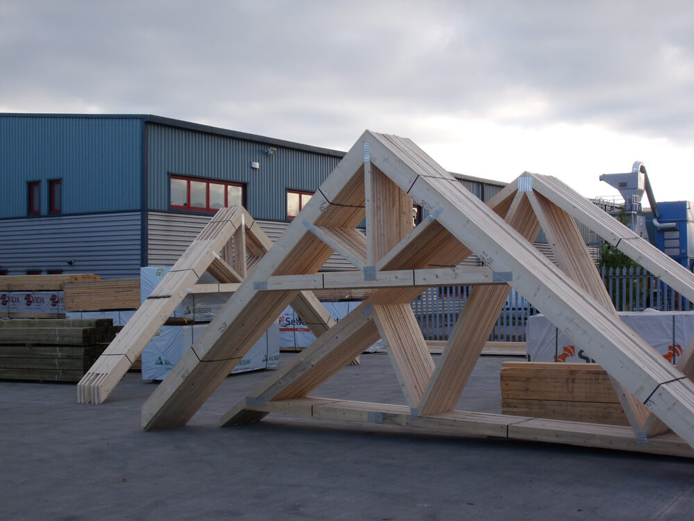 Harlow Timber Systems Roof Trusses Feature Trusses Solid Oak Products